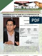 Boletin 2, Pruebas de Factaruas y Recibos Intervencion Policial Chaparina