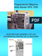 Presentacion de Armado de Baxter 1550 13096