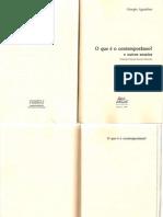 Texto01C_Agamben, Giorgio - O Que e o Contemporaneo