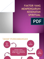Faktor Yang Mempengaruhi Kesehatan Spiritual