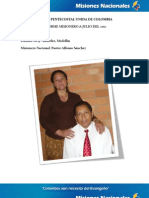Informe Misionero a Julio 2012 - Distrito 9 - Laureles, Medellín