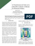 Análisis de la Transferencia de Calor en la Celda de Combustible mediante el Método de los Elementos Finitos