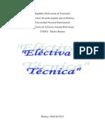 Electiva Tecnik