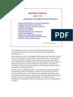 Parâmetros operacionais e de projeto em motores alternativos