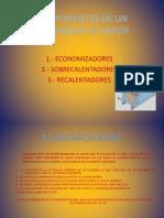 COMPONENTES DE UN GENERADOR DE VAPOR EXPOSICIÓN