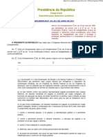 Lei Da Ficha Limpa - Lei Complementar 135-2010