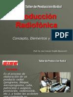 La Producción Radiofónica
