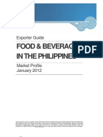 FB Market Profile in the Philippines January 2012