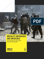 egypt - army abuses report - final