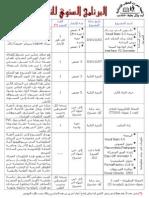 Programme CTI 2010-2011