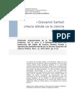 004_Giovanni Sartori_hacia Donde Va La Ciencia Politica