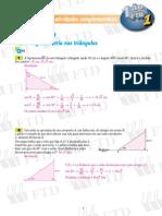 trigonometria nos triângulos