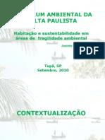 Habitação e sustentabilidade - Ilha de Deus, Recife