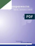 Transparencia Libros Autores e Ideas