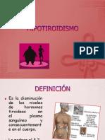 DIAPOS HIPOTIROIDISMO