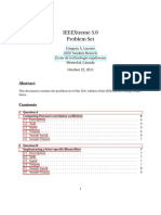 Ieee Xtreme 5 Questions