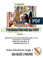 Makalah Perkembangan Islam Pada Masa Modern
