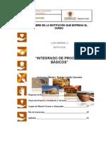Manual Integrado de Procesos