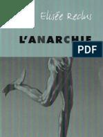 Elisée Reclus - L'Anarchie
