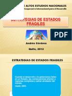 ESTRATEGIAS DE ESTADOS FRAGILES
