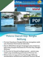 Welcome to Bangka Belitung Island