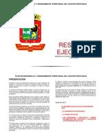 Plan de Ordenamiento y Desarrollo Territorial
