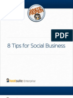 Hootsuite Whitepaper 8 Tips for Social Business