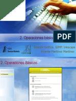2 Operaciones Básicas