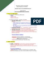 Exam 2 Study Guide - Cellular Response to Injury