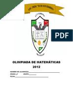 Olimpiada de Matematicas 2012