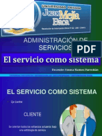El Servicio Como Sistema Clase Umb