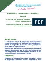 Uso Plaguicidas en Nicaragua