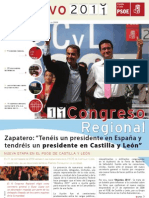 1er Boletín On-Line de la Ejecutiva del PSCyL-PSOE