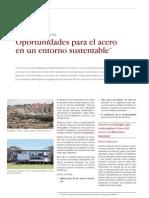 Revista Acero - Oportunidades Para El Acero en Un Entorno Sustentable