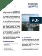 FUS Flare Tips Datasheet