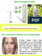 Mejor Natox Arrugas Crema