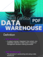 Data Warehouse and Data Sources