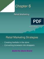 Chpt 6-Retail Marketing