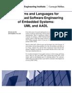 UML AADL Comparison