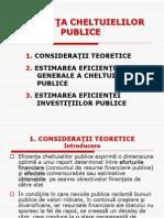 7. eficienta cheltuielilor publice