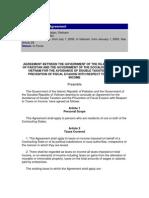 DTC agreement between Viet nam and Pakistan