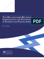 The Relationship Between Immigration and Nativism in Europe and North America