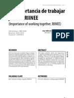 Rei 15-8 La Importancia de Trabajar Juntos