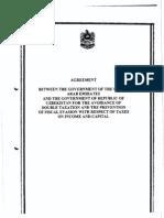DTC agreement between Uzbekistan and United Arab Emirates