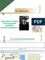 TD Sous-thème 5 Quels sont les grands équilibre macroéconomiques 2012-2013- Le circuit économique