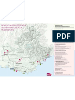 Principaux Chantiers PACA 2012-2013