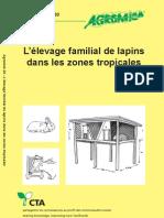 Agrodok 20 élevage familial de lapins