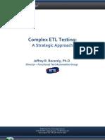 Datawarehouse Testing- Performance
