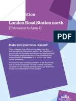 London Road parking zone extension consultation