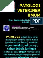 Patologi Umum-Dasar1 Prof.bambang Pontjo